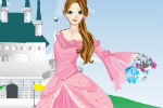 Dress Up Princess In Front Of The Castle Game