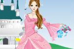 Oblacenje princeze ispred dvorca igra
