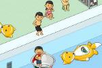 Igra Skakanje u bazen – Zabavna igra