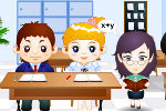 Kissing In The Classroom Game – Kissing Games