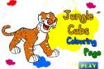 Igrica Tigar Bojanka – Igre Bojanja