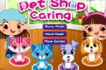 Igra Briga za životinje u trgovini ljubimaca