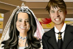 William and Kate Dress Up Game