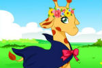 Igra Žirafa Oblačenje – Životinjske Igrice