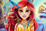 Mala Sirena Ariel – Igra Šišanja