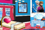 Frozen Elsa and Anna Room Decoration – Frozen Games