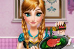 Frozen Anna Real Cooking – Frozen Games