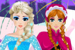 Frozen Elsa i Ana Šminkanje i Oblačenje – Frozen Igre
