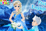 Frozen Elsa and Jack Engagement – Frozen Games