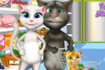 Talking Tom Igra Kupovanja i Kuhanja – Talking Tom Igre