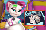 Trudna Angela – Talking Tom Igre