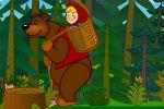 Maša i Medvjed Igre Matematika