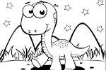 Oboji Dinosaura – Dinosauri Igre