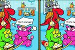 Pronađi Razliku – Dinosauri Igre